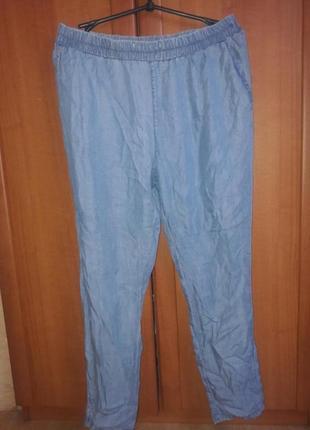 Шикарные тонюсенькие лёгкие штаны брюки  спортивного плана джинс манго