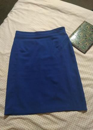 Модная юбка ткань до колен 👍💣- m l