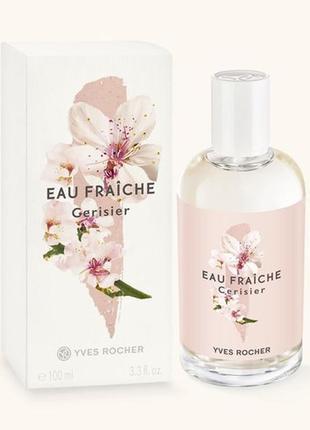 Туалетная вода вишневый цвет (вишня в цвету) 100мл cerisier en fleurs yves rocher