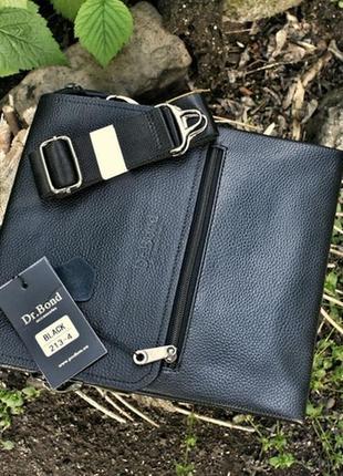 Мужская кожаная сумка чоловіча шкіряна планшет