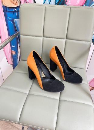 Туфли с итальянской замши замшевые туфлі замшеві