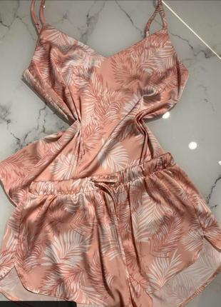 Шикарна шовкова піжама. італійська тканина!