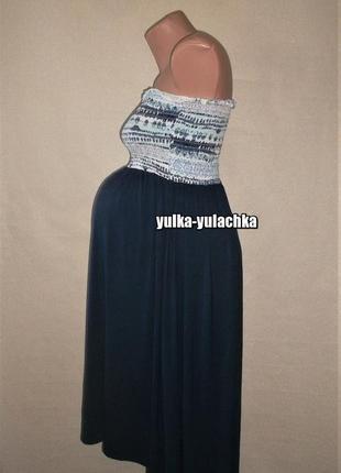 Функциональное платье сарафан юбка tchibo для беременных рр. s m
