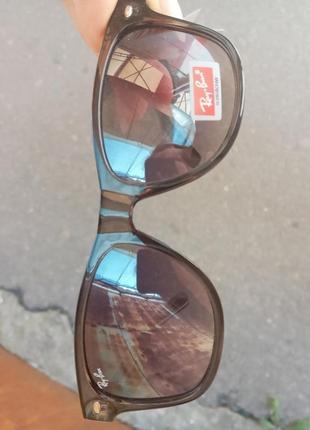 Ray ban вайфареры унисекс италия серебристые распродажа остатков витрины