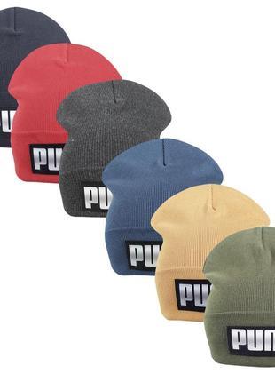 Комплект шапок пума 6 штук ог.48-57см