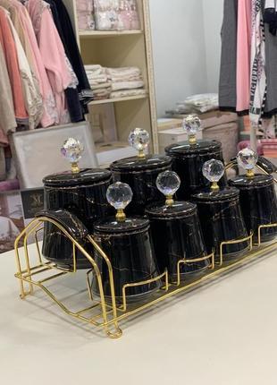 Набор банок для сипучих3 фото