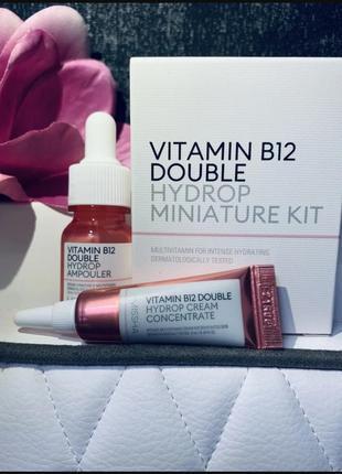Набор мини-средств для лица сыворотка+крем с витамином missha vitamin b12