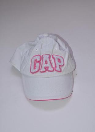Белая кепка 6-12 месяцев gap