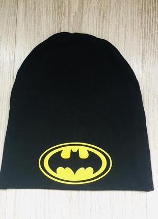 Шапочка осенняя batman