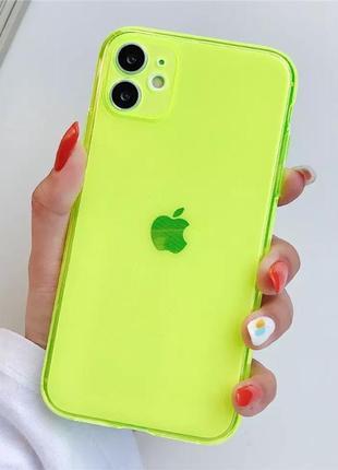 Неоновий чохол на айфон 7/8, iphone 7/8 case