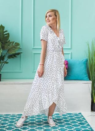 Стильное летнее платье