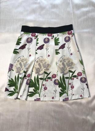 Распродажа)) все по 100 юбка с красивым принтом