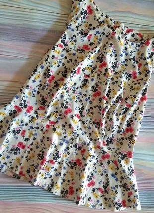 Блуза с воланом new look