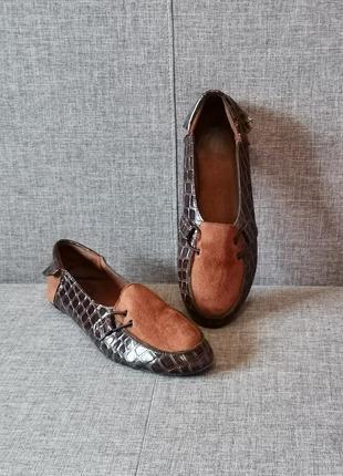 Мягкие туфли мокасины топсайдеры балетки лоферы чешки