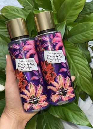 Парфюмированный спрей для тела виктория сикрет victoria secret enchanted lily