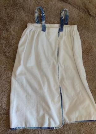 Платье полотенце на липучке
