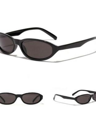 Солнцезащитные очки с защитой от ультрафиолета овальные кошачий глаз capsula аниме