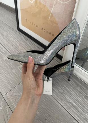 Лодочки туфли на высоком каблуке