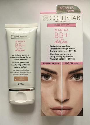 Крем collistar magica bb + detox spf20