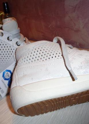 Кроссовки geox италия из натуральной кожи