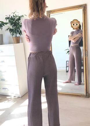 Плиссированные брючки, брюки, штаны, кюлоты