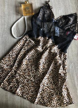 Пеньюар сорочка ночнушка итальянская yamamay жіноча білизна розмір s m спокуслива