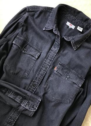 Джинсовая рубашка lewis
