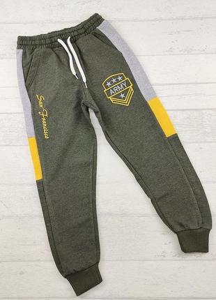 Спортивные штаны на мальчика р.116-134 см. турция.