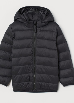 Утепленная легкая куртка h&m 98