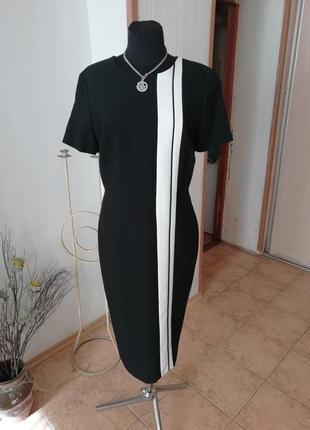 Платье  сукня офис футляр march spencer миди