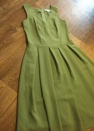 Платье летнее с пышной юбкой