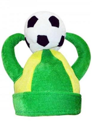 Шапка футбольного фаната викинг мяч