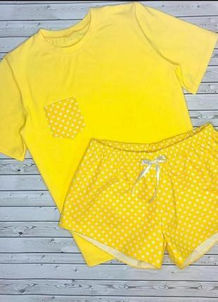 Пижама футболка шорты