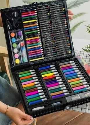 Дитячий художній набір для творчості та малювання art set 150 предметів