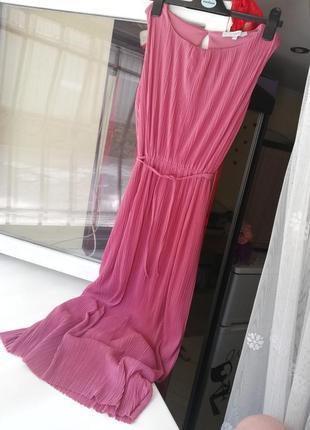 Шикарне фірмове плаття пліссе міді next