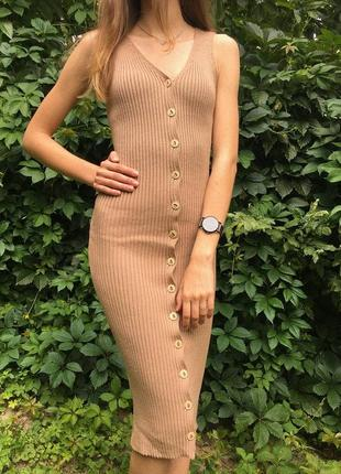Сукня з пряжі, платье с пряжи