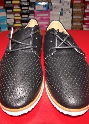 Туфли женские на шнурке.ж-2567.размер:36,37,38,39,40,41.