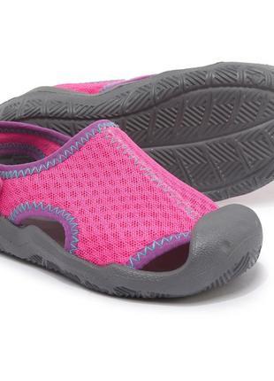 Crocs magenta swiftwater sandals детские сандалии оригинал!