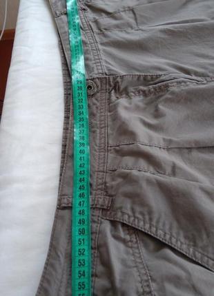 Фірмові звужені штани котонові великого розміру6 фото