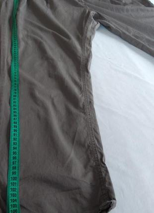Фірмові звужені штани котонові великого розміру7 фото