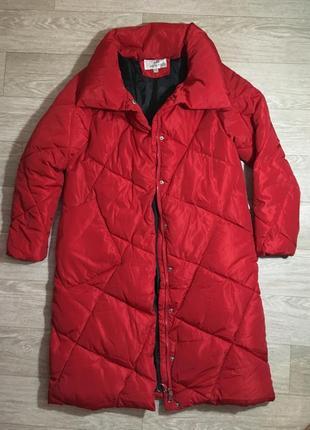 Пальто зима, дутое пальто, пуховик