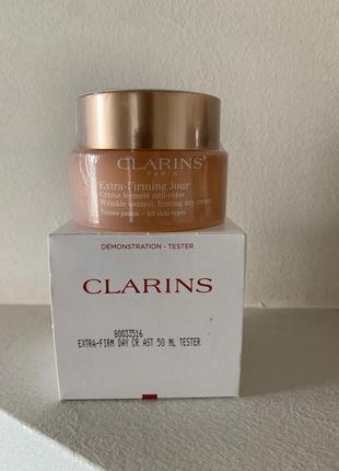 Clarins extra-firming day cream дневной антивозрастной крем для лица