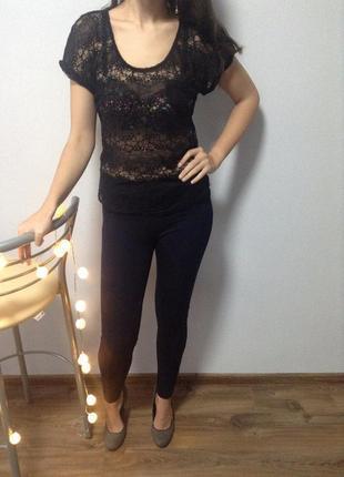 Ажурная блуза / большая распродажа!