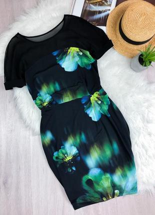 Платье в цветочный принт coast