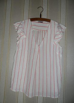 Блуза короткий рукав размер 44 // xxl