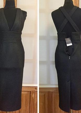 Новое платье миди topshop