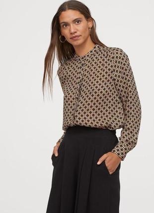 Блузы рубашки в принт richard allan & h&m