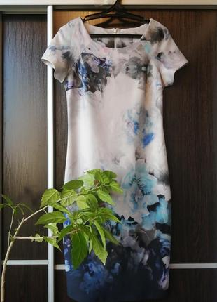 Красивейшее, шикарное платье сукня цветы от coast