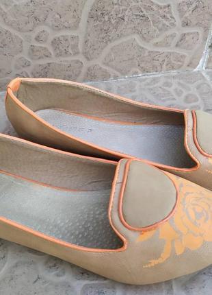 Жіночі балетки туфлі 38 р