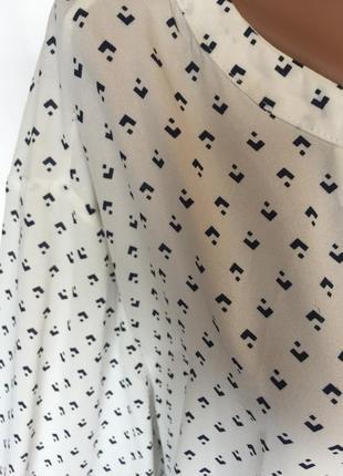 Шикарная воздушная блуза большого размера3 фото
